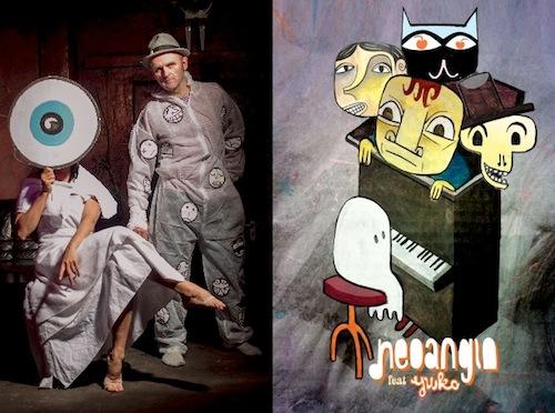 Cavaret Avignon Music-Jim Avignon,  Dance-Yuko Matsuyama