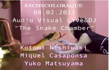 The Snake Chamber Kotomi Nishiwaki, Miquel Casaponsa, Yuko Matsuyama