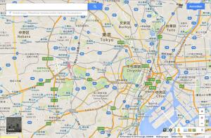 Tokyoベルリンの自転車圏
